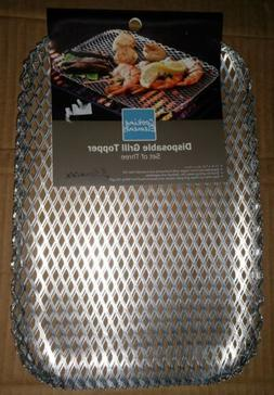 """""""Cooking Elements"""" Disposable Grill Topper Small Rectangle"""