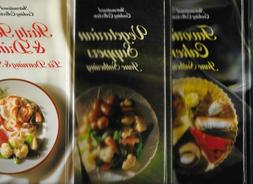 Lot of 3 As New International Cooking Collection: Cakes, Veg