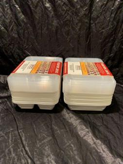 Good Cook Meal Prep  Containers + Lids -20 Ct