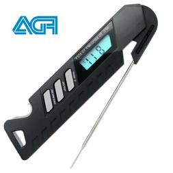 Meat Thermometer Instant Read Digital Kitchen Grill Cooking