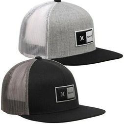 Hurley Men's Natural Trucker Snapback Hat Cap