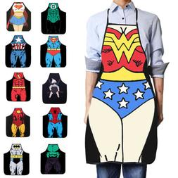 Men's Women's Funny Cute Apron Waterproof Kitchen Restaurant