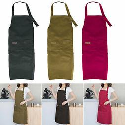 Men Women Cooking Kitchen Restaurant Chef Adjustable Bib Apr