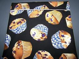 Microwave Muffins & Breads Fabric Steaming Cooking Baking Ba