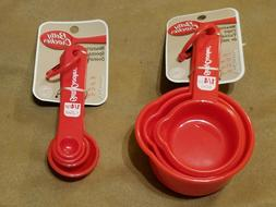 nesting measuring cups and spoon kitchen utensils