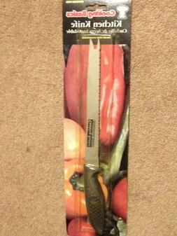 "New 12-3/4"" STAINLESS STEEL COOKING BASICS KITCHEN KNIFE ""NE"