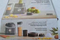 Pampered Chef NEW Deluxe Cooking BLENDER SMOOTHIE CUP & ADAP