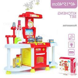 new kids pretend cooking playset kitchen toy