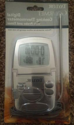 New NIP Taylor Gourmet cooking thermometer Digital Probe & T