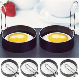 Non Stick Fried Egg Shaper Stainless Steel Pancake Ring Mold