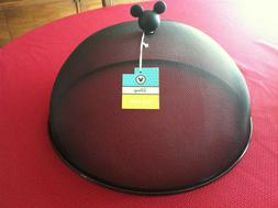 NWT Disney Mickey Mouse Black Food Dome Picnic Outdoor Cooki