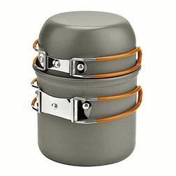 Outdoor Camping Cookware Set Marching Utensils Tableware Coo
