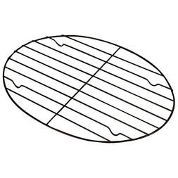 Fox Run 57213 Oval Roasting/Cooling Rack, Iron, Non-Stick, 1