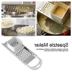 Pasta Machine Manual Noodle Spaetzle Maker Cooking Tools Kit