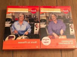 Paula's Home Cooking 2 Box Sets 3 DVDs Vol 1 New Vol 2 Used