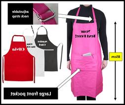 Personalised apron pocket chef cooking catering birthday gif