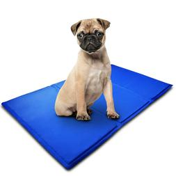 Pet Cooling Mat Cool Gel Pad Cooling Pet Bed for Dog, Non-To