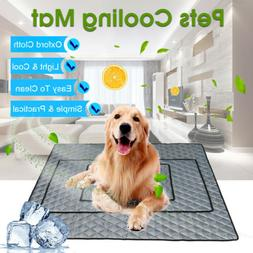 Pet Dog Cooling Mat Non-Toxic Cool Pad Pet Bed For Summer Do