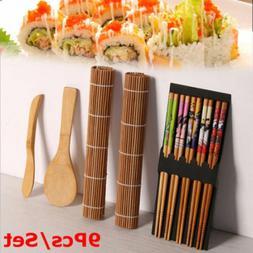 Practical Sushi Maker Set Bamboo Curtain Gadgets 5Pcs Access