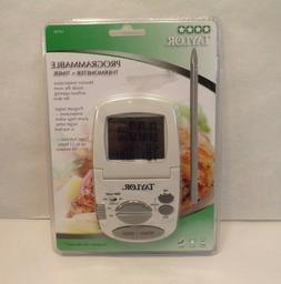Taylor Programmable Digital Cooking Thermometer with Probe+T