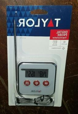 Taylor Programmable Digital Probe Thermometer with Timer, 15