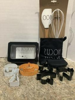 Rae Dunn Hocus Pocus Oven Mit,Wisk And Spatula Set - Trick O
