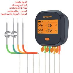 Inkbird Rechargeable Waterproof WiFi BBQ Thermometer Cook Sm