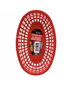 Cooking Concepts Red Deli Baskets, 2 Packs Of 4-ct. baskets.