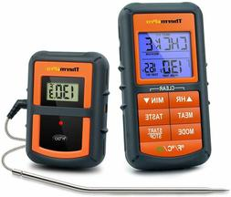 Remote Cooking Thermometer Digital BBQ Grill Oven Meat Wirel
