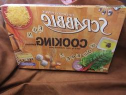 Scrabble Cooking Edition Board Game Factory Sealed New In Bo