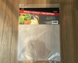 Set of 2 FLEXIBLE CHOPPING MATS COOKING CONCEPTS