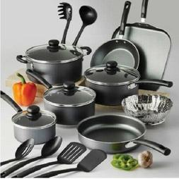 18-PIECE COOKWARE SET Pots And Pans Non Stick Cooking Alumin