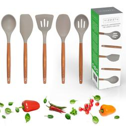 UTENSIV Silicone Cooking Utensils Kitchen Utensil Set with A