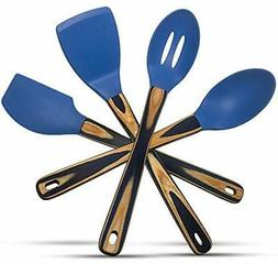 Silicone Spatulas and Cooking Spoons, Kitchen Utensils Gift