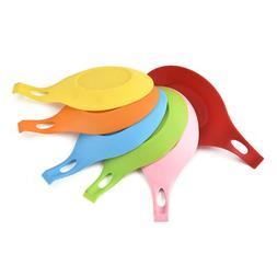 Silicone Spoon Rest Heat Resistant Kitchen Utensil Spatula H