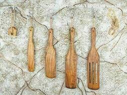 Spurtle Kitchen Tools Set Spatula Cooking Utensils 4 Piece A