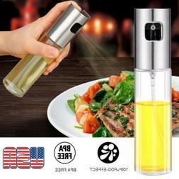Olive Oil Sprayer Cooking Mister Spray Pump Fine Bottle Kitc