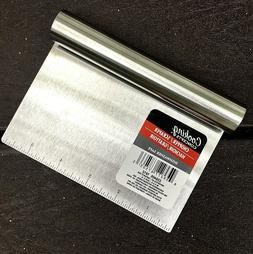 Stainless Steel Food Scraper and Chopper Large Griddle Spatu