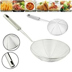 Stainless Steel Spider Strainer French Fries Strainer Cookin