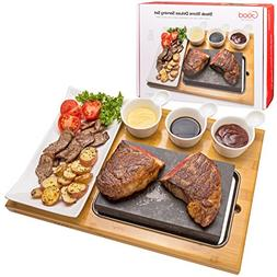 Cooking Stone for Tabletop- Deluxe Tabletop Hibachi Grilling