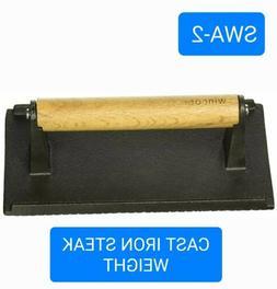 Winco SWA-2 Iron 8-1/4 Steak Weight