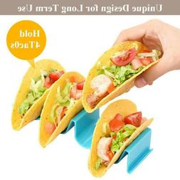 Taco Holder Mexican Food Wave Shape Hard Rack Stand Kitchen