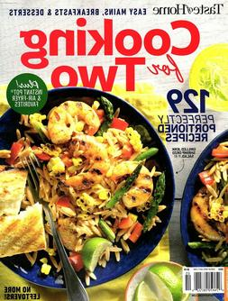 """Taste of Home """"COOKING FOR TWO"""" Magazine ~ Portioned Recipes"""