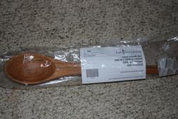 Pampered Chef Teak Wooden Spoon Item Number 2002 New Item!!!