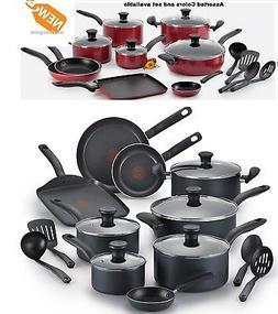 TFAL Nonstick Cookware Set Aluminum Pots Pans Kitchen Cookin