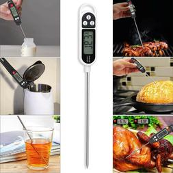 Thermometer with Super Long Probe for Kitchen Cooking BBQ Gr