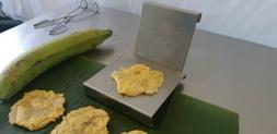 Tostonera in Stainless Steel, Pataconera, Banana & Plantain