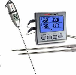 TP02S Instant Read&TP17 Digital Meat Cooking Thermometer 2 P