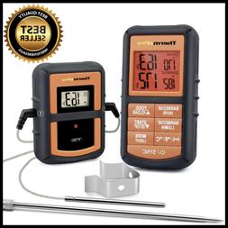 ThermoPro TP08S Wireless Digital Meat Thermometer W/ Dual Pr