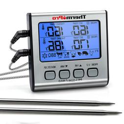 ThermoPro Meat Thermometer Dual Probe Digital Cooking Grill